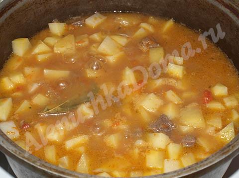 картошка тушёная фото