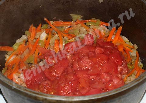 Приготовление фаршированного болгарского перца