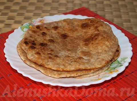 Индийский хлеб Пури