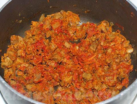 приготовление гуляша из свинины рецепты