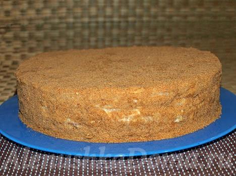"""Торт """"Рыжик"""" коржи"""