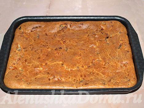рецепт лоранский пирог с курицей и грибами